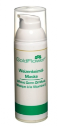 Goldflower Weizenkeimöl-Maske - 50 ml
