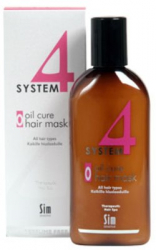 SIM System 4 Oil Cure Hair Mask-215 ml